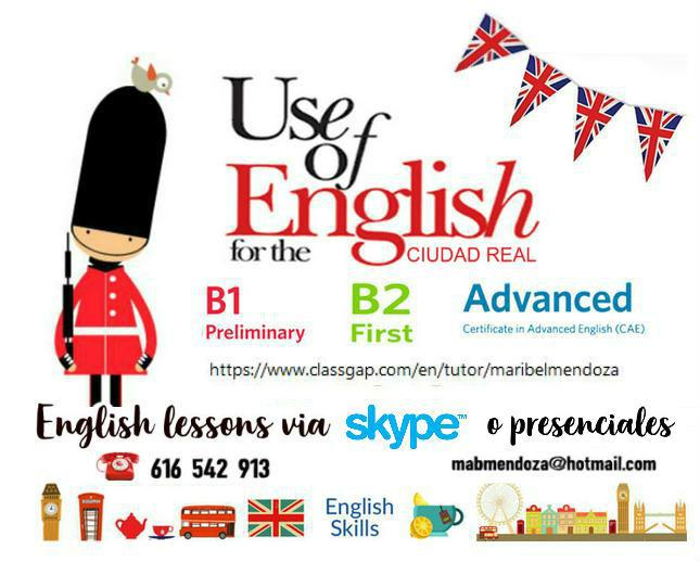 Clases inglés individuales:curso 2020-21