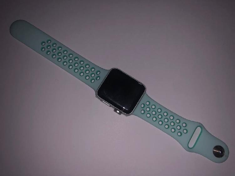 Correa azul claro iwatch reloj apple 38mm