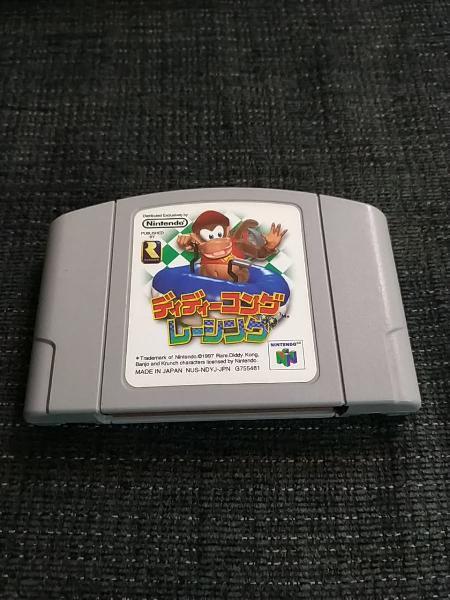 Diddy kong racing 64 nintendo 64 japonesa original