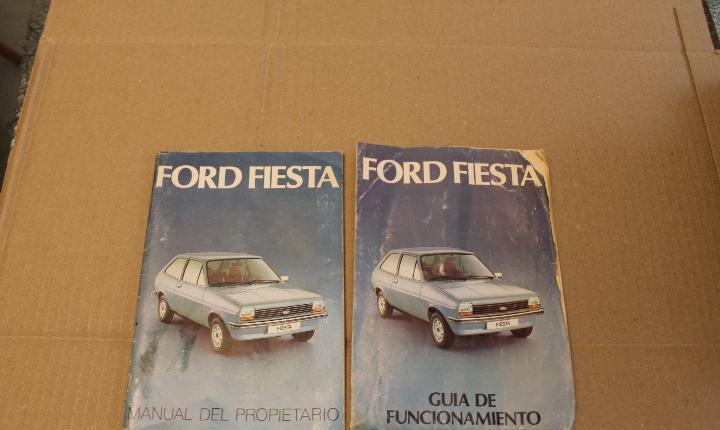 Ford fiesta, manual del propietario y guia de funcionamiento