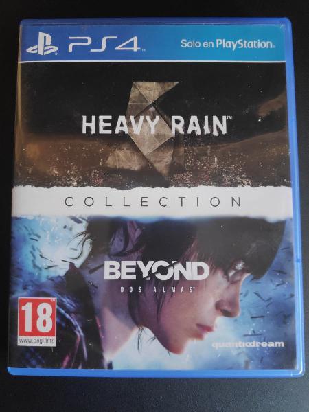 Heavy rain + beyond: two souls ps4