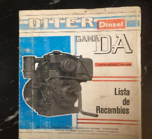 Lista de recambios diter diesel gama da