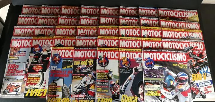 Lote revista motociclismo moto motor año 1996 37 ejemplares