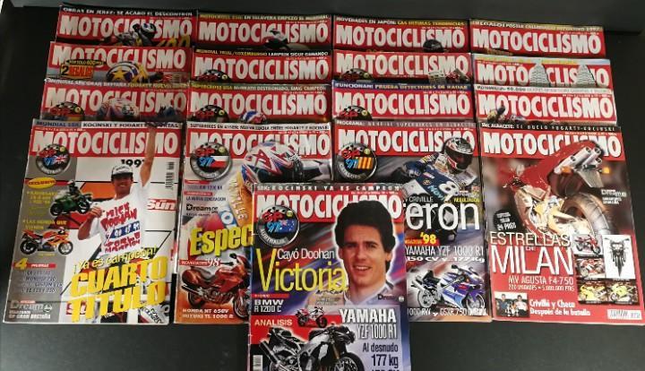 Lote revista motociclismo moto motor año 1997 17 ejemplares