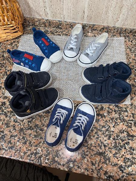 Lote zapatos niño n23