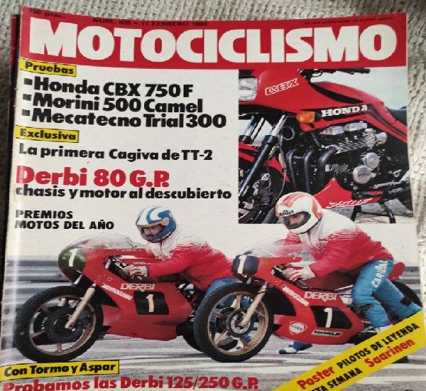 Motociclismo 839 honda cbx 750 f mecatecno trial mr 300
