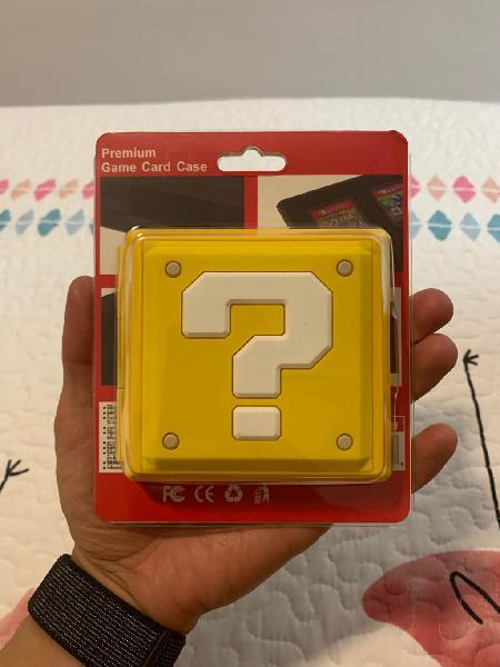Premium case caja mario switch