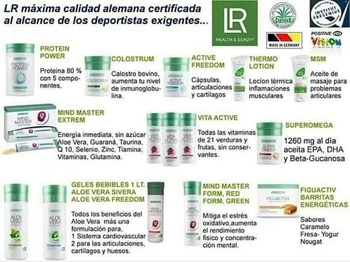 Productos naturales lr health and beauty