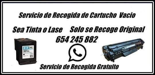 Servicio recogidas de tone impresoras a empresas..