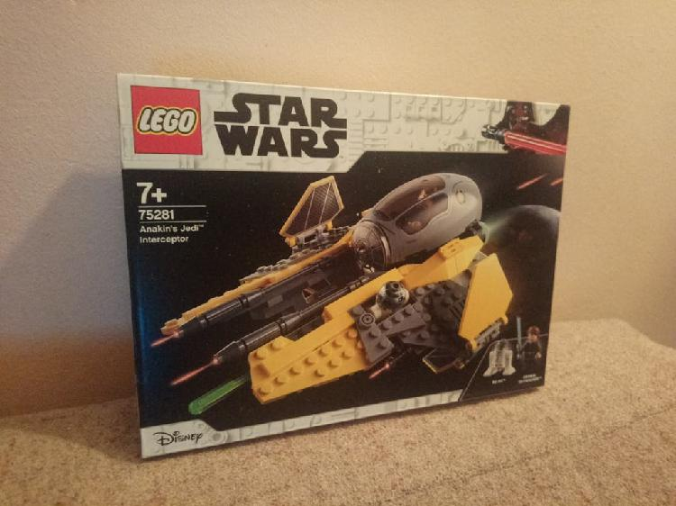 Star wars lego anakin's jedi interceptor.rf: 75281