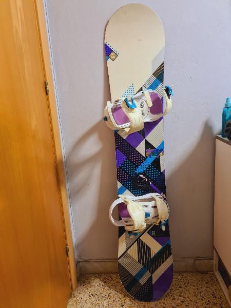 Tabla snowboard 5150 sienna