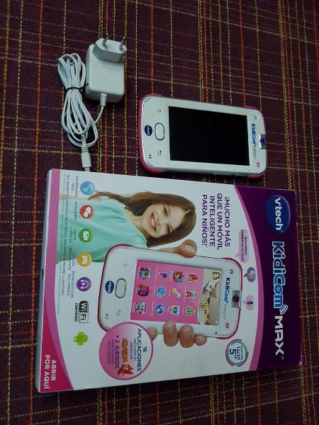 Tablet movil kidicom max para niños