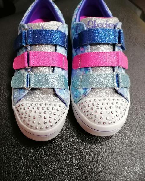Zapatillas/zapatos skechers con luces