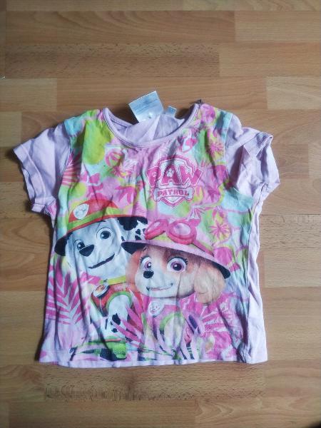 Camiseta patrulla canina talla 4 años