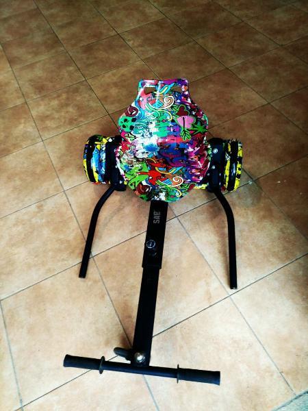 Patinete electrico hoverboard con silla