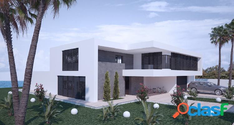 Proyecto - preciosa villa de estilo moderno con piscina privada y vistas al mar