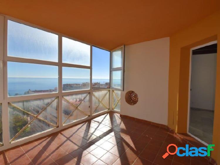 Apartamento con vista al mar en playa los locos