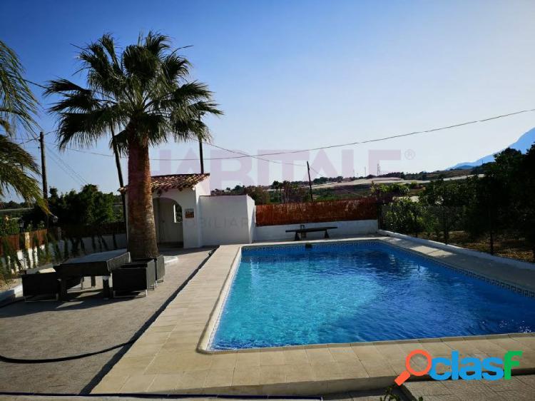 Casa campo 4 dormitorios y piscina