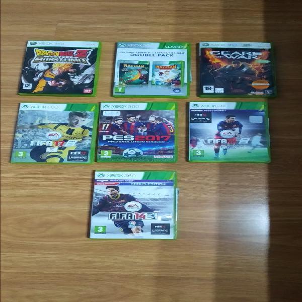 7 juegos xbox360