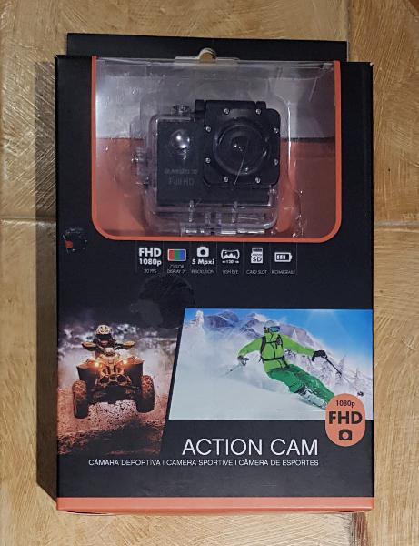 Action cam avenzo vídeo fhd 1080p cámara deportiva