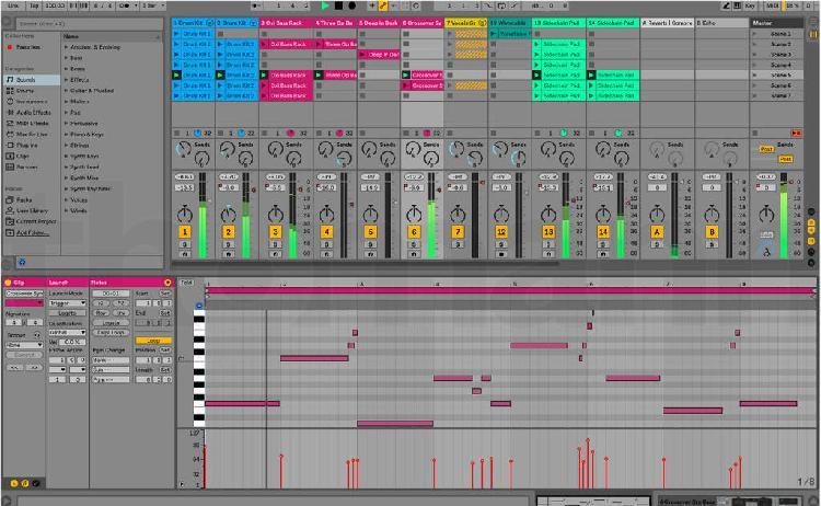 Ableton live lite 10, analog lab lite y uvi piano