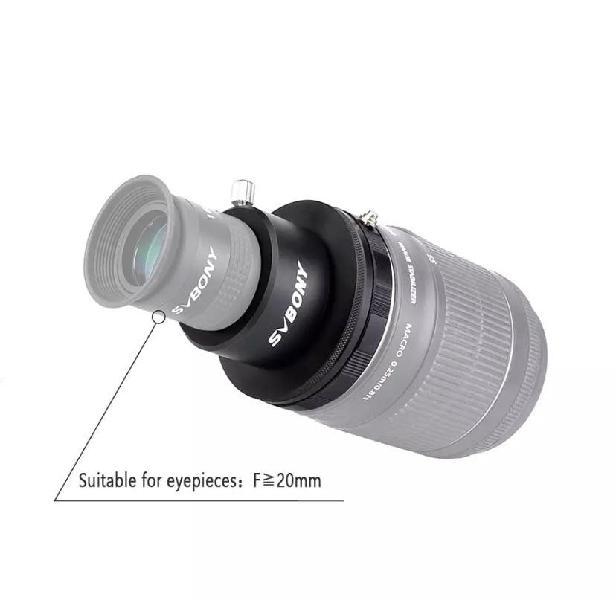 Adaptador para ocular 1,25 a objetivo canon