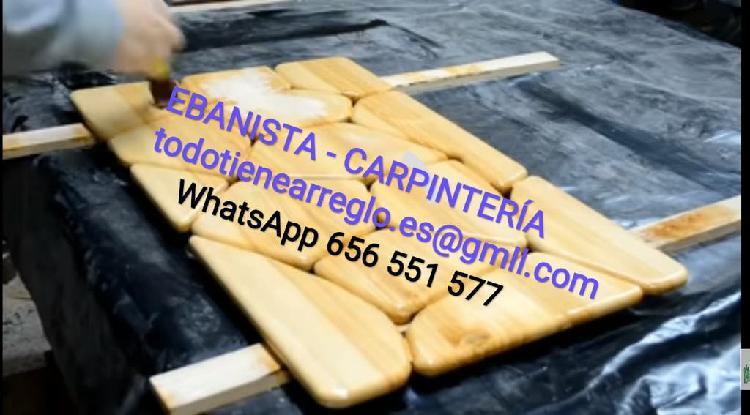 Carpintero, reparaciones, fabricación
