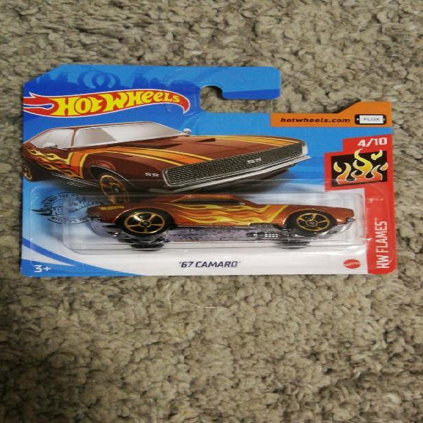 Camaro 67 hotwheels