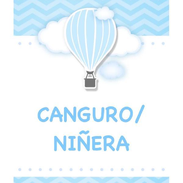 Canguro / niñera