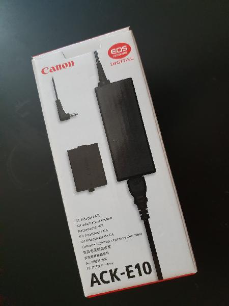 Canon ack-dc10 adaptador de corriente