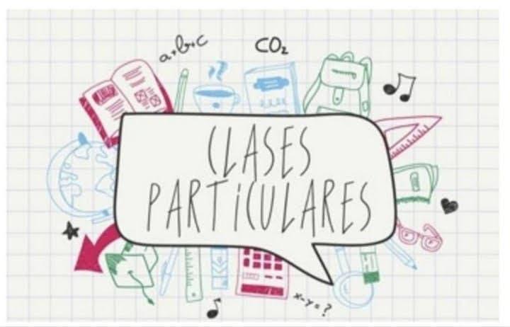 Clases particulares para primaria o secundaria.