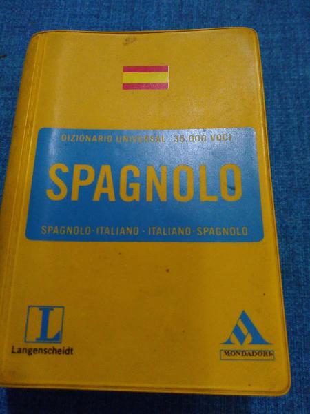 Diccionario de bolsillo español italiano