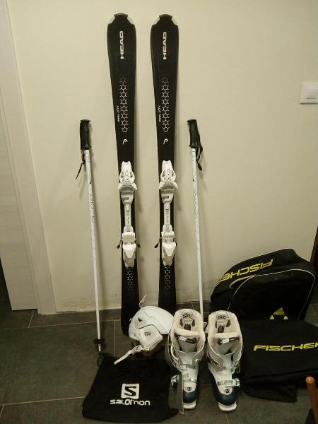 Equipo completo esqui mujer