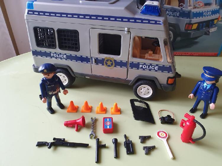Furgón policía playmobil 4023