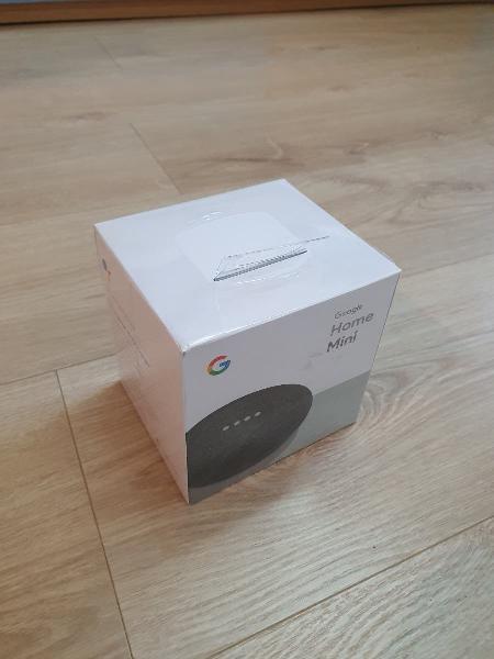 Google home mini (sin abrir)