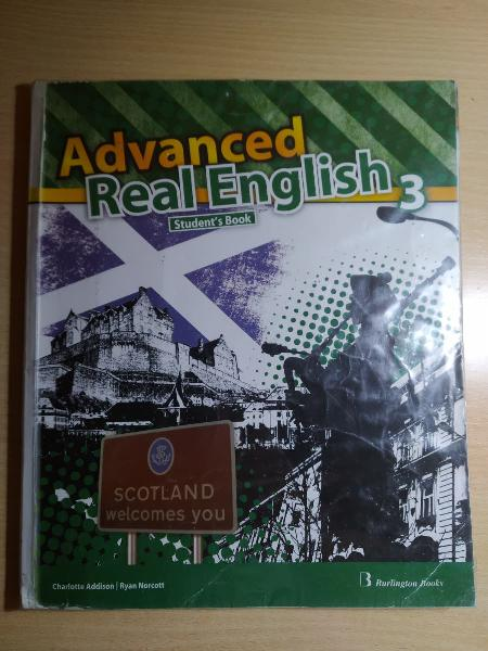 Libro de inglés burlington books 3 eso