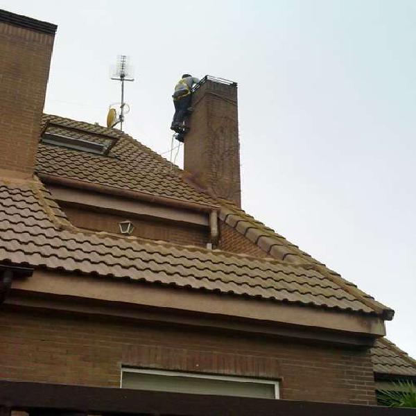 Limpieza de chimeneas se realizarán con métodos