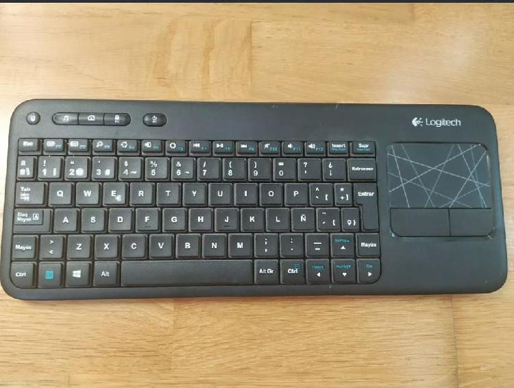 Logitech wireless keyboard k400r con touchpad