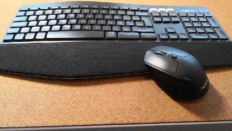 Pack teclado y ratón inalámbrico bluetooth