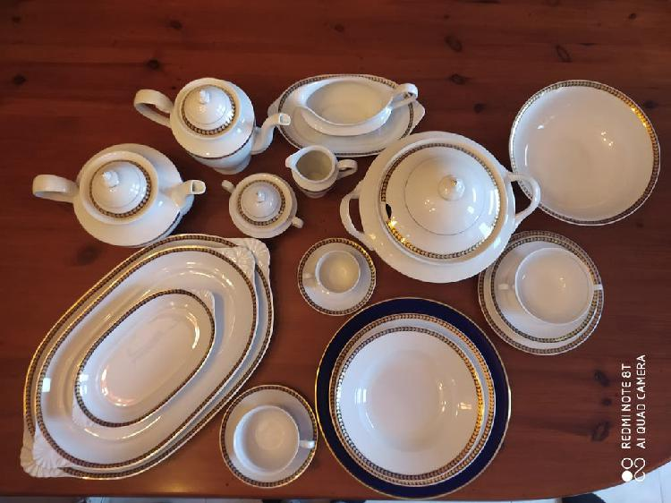 Vajilla porcelana capeans 110 piezas