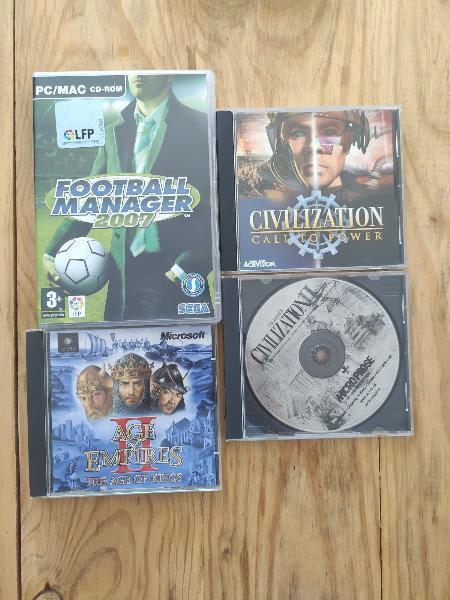 Varios videojuegos para pc
