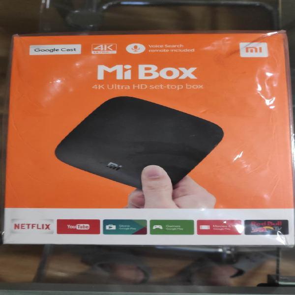 Xiaomi mi tv box 4k ultra hd