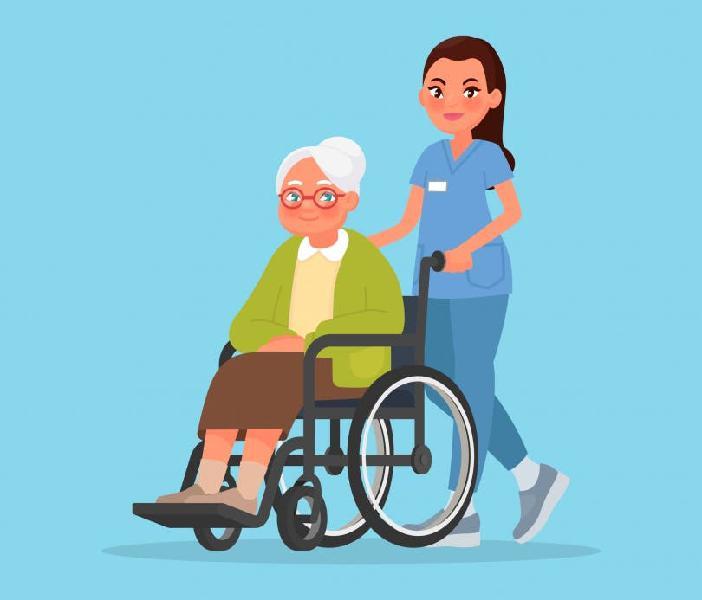 Cuidadora de mayores, limpiadora hogar