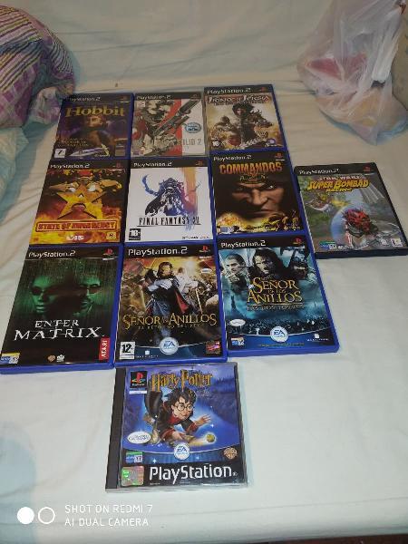 Lote juegos playstation 2