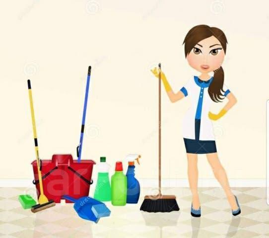 Me ofrezco de limpieza