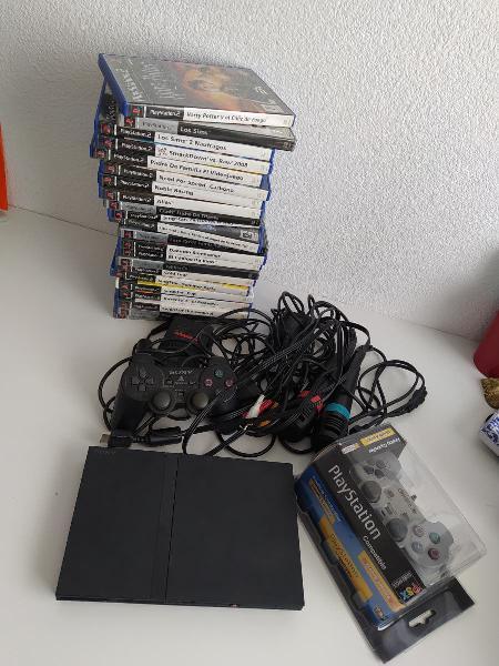 Pack ps2 + juegos