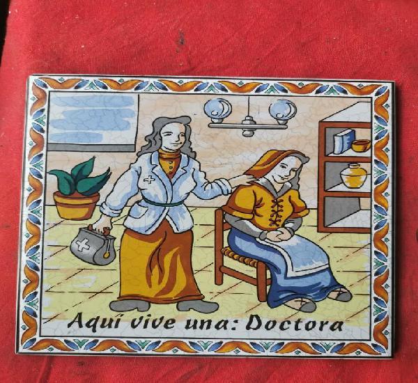 Azulejo oficios.doctora.