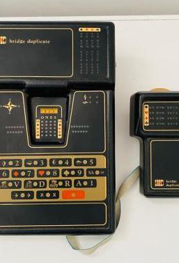 Bridge duplicate electronic game