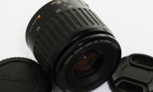 Canon ef 35-80mm. f4-5.6 macro para ff y aps-c