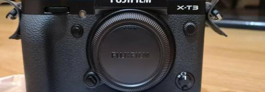Câmera fujifilm x-t3